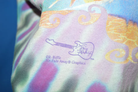 90s Jimi Hendrix Psychedelic Eye Tie Dye t-shirt Extra Large