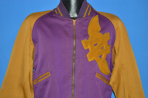 40s Lowe & Campbell Nebraska City Pioneers Jacket Medium