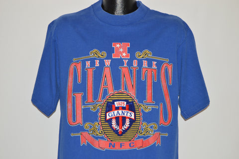 90s New York Giants Crest Logo t-shirt Large