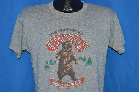 80s Grizzly Beer Bear t-shirt Medium