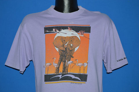 80s Little Rock Arkansas Zoo Sunset Elephant t-shirt Medium