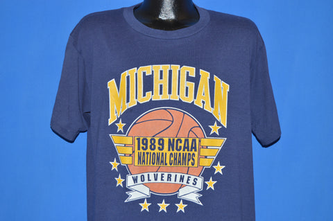 80s Michigan Wolverines NCAA Champs t-shirt Extra Large