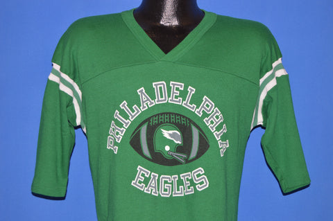 80s Philadelphia Eagles Kelly Green t-shirt Football Medium