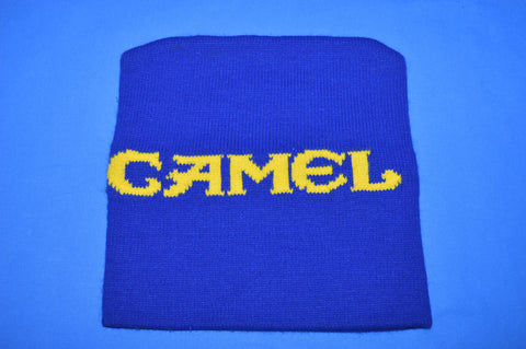 90s Camel Cigarettes Blue Beanie Winter Hat