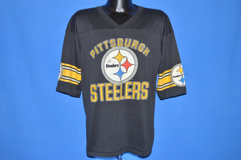 promo code 8b207 453b5 80s Pittsburgh Steelers Jersey t-shirt Large