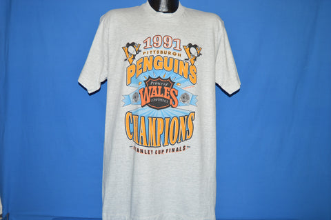 90s Pittsburgh Penguins 1991 Stanley Cup t-shirt Extra Large