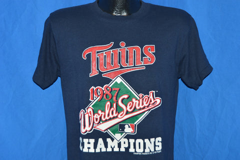 1987 Minnesota Twins World Series Champs t-shirt Medium