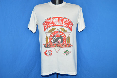 90s Cincinnati Reds 1990 World Series t-shirt Medium