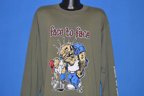90s Face To Face Tour 1996 Long Sleeve t-shirt Extra Large