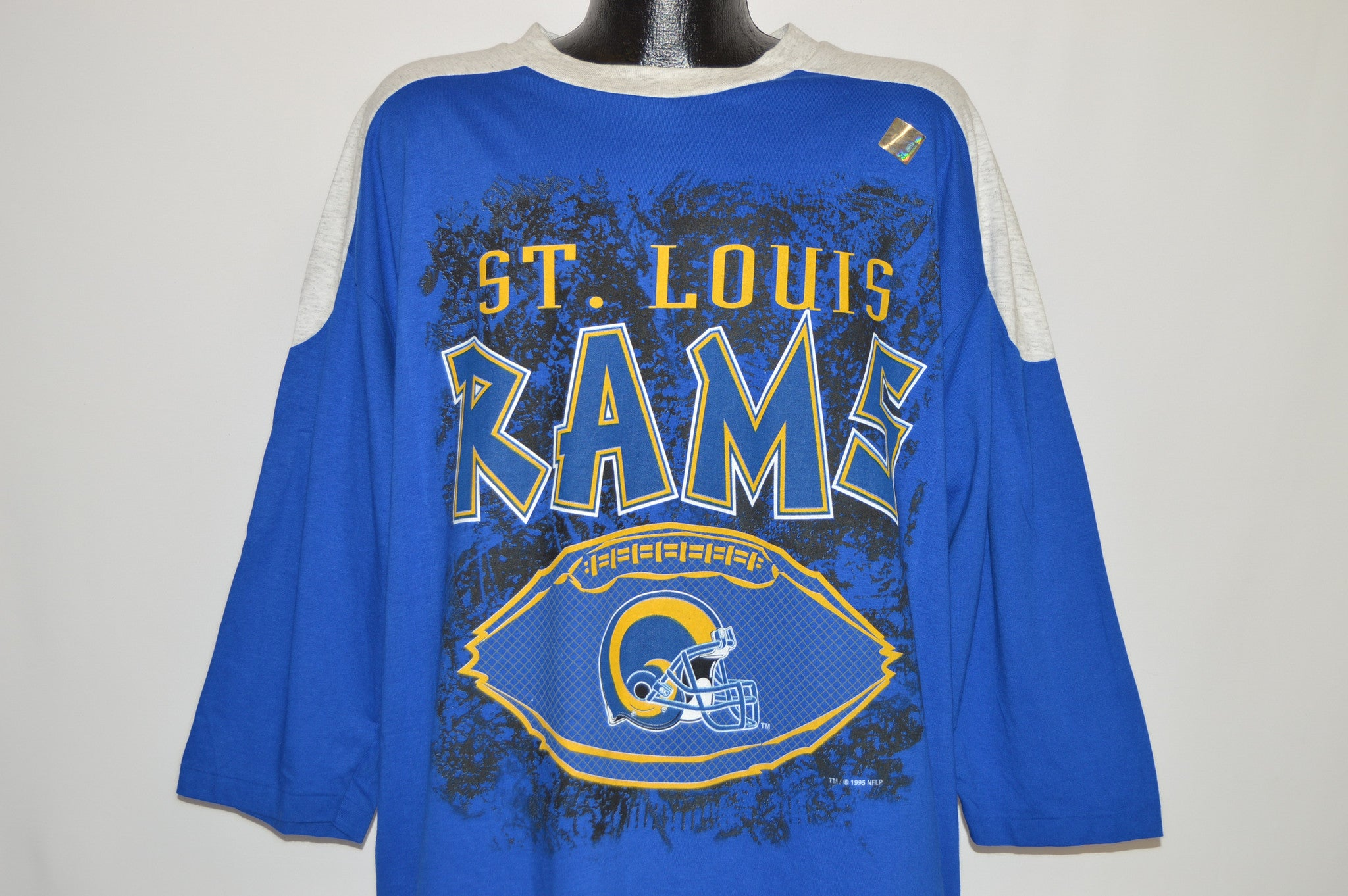 90s St Louis Rams Oversized Jersey Deadstock t-shirt Extra Large ... 33f397013