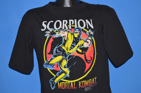 90s Scorpion Mortal Kombat Arcade Game t-shirt Youth XL