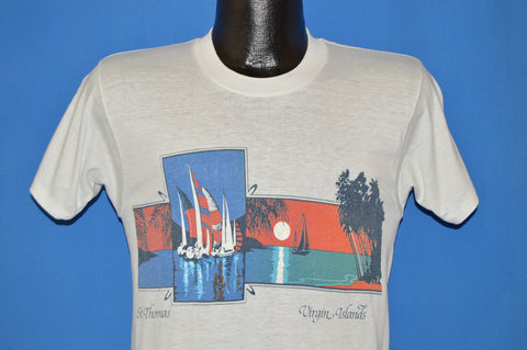 80s St. Thomas Tourist t-shirt Small