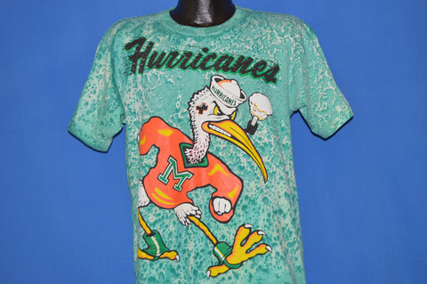 90s Miami Hurricanes Sebastian The Ibis t-shirt Large