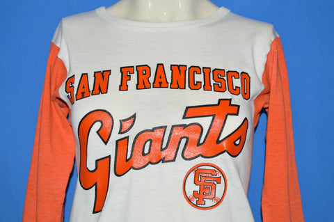 70s San Francisco Giants Jersey Style t-shirt Youth Large