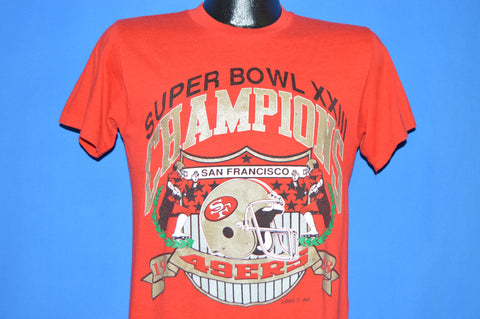 80s San Francisco 49ers Super Bowl XXIII t-shirt Small