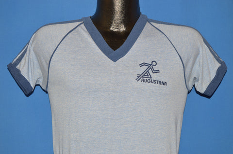 80s Augustana Running t-shirt Small
