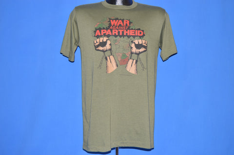 80s War Against Apartheid South Africa Liberation t-shirt Medium