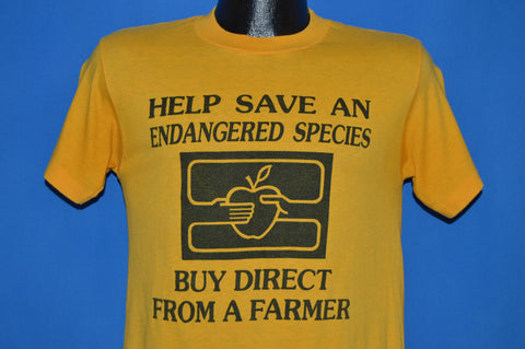 80s Help Save Endangered Species t-shirt Small
