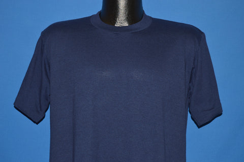 80s Jerzees Blue Blank Unworn t-shirt Large