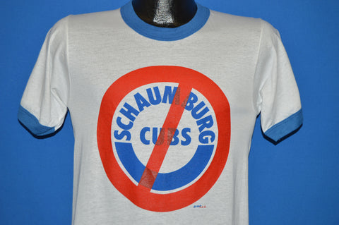 80s Chicago Cubs Don't Move Schaumburg t-shirt Small