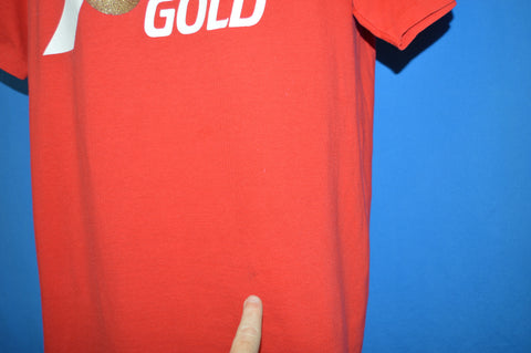 80s 7 UP Gold t-shirt Large