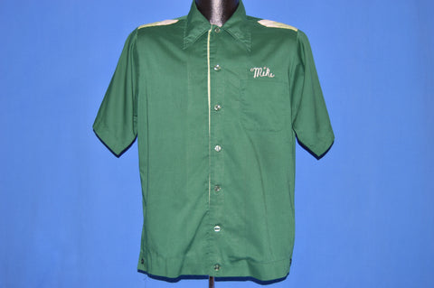 70s Service Tire Co. Van Nuys Mike Bowling Shirt Medium