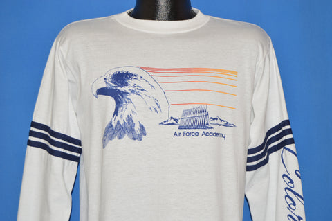80s Air Force Academy Long Sleeve t-shirt Large