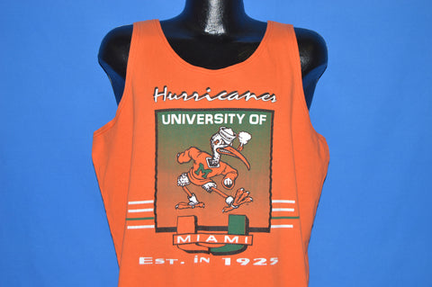 90s Miami Hurricanes Tank Top t-shirt Extra Large