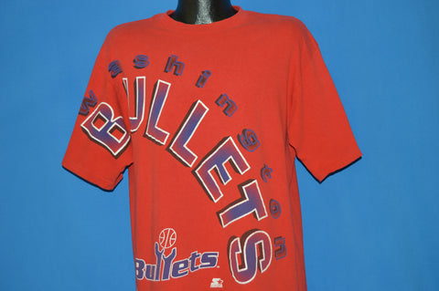 90s Washington DC Bullets t-shirt Large