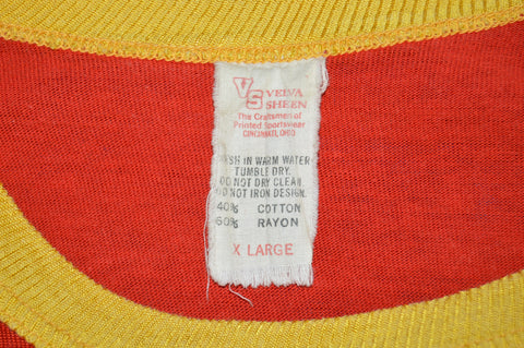 70s Oberlin College 1977 Football Jersey t-shirt Medium
