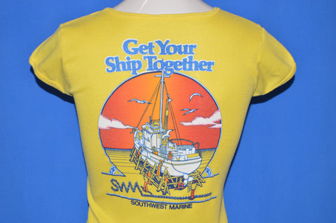 80s Get Your Ship Together t-shirt Women's Small