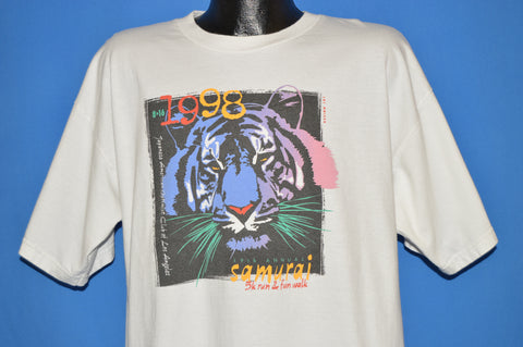 90s Samurai 5k Run 1998 t-shirt Extra Large