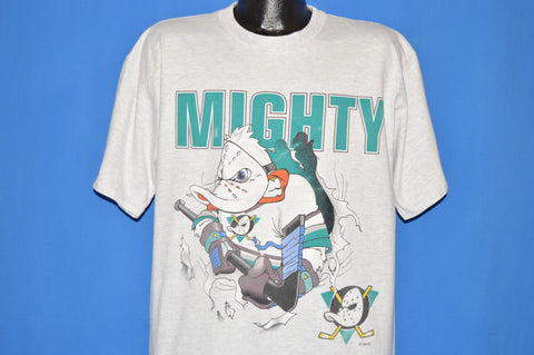 90s Anaheim Mighty Ducks Goalie t-shirt Extra Large