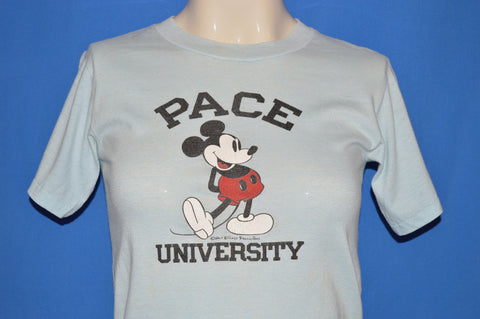 80s Mickey Mouse Pace University t-shirt Youth Large