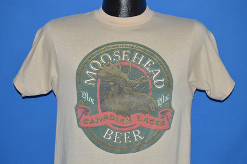 70s Moosehead Beer t-shirt Small