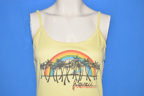 70s Hawaii Rainbow Tank Top Women's Medium