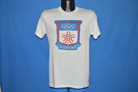 80s Winter Olympic Games Calgary 1988 t-shirt Small