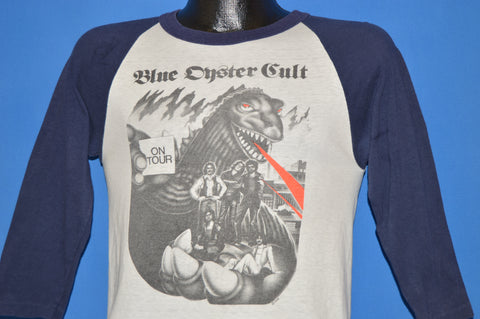 70s Blue Oyster Cult On Tour t-shirt Small