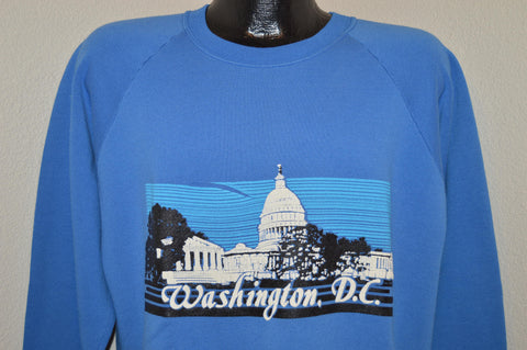 90s Washington D.C. Sweatshirt Large