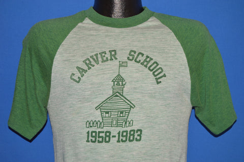 80s Carver School 1983 Jersey t-shirt Small