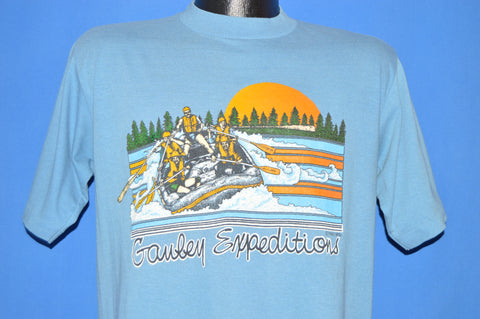 80s Gauley Expeditions White Water Rafting t-shirt Large