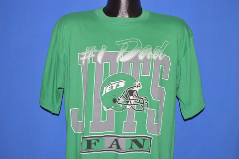 90s New York Jets #1 Dad Fan t-shirt Extra Large