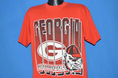 90s University Of Georgia Bulldogs t-shirt Extra Large