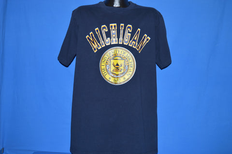 90s University of Michigan Seal Champion t-shirt Extra Large