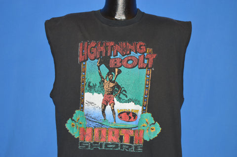 90s Lightning Bolt North Shore Tank Top t-shirt Extra Large