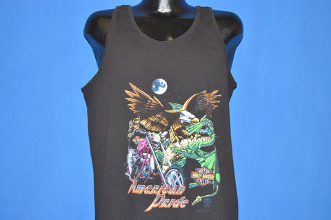 80s Harley Davidson American Pride Tank Top t-shirt Extra Large