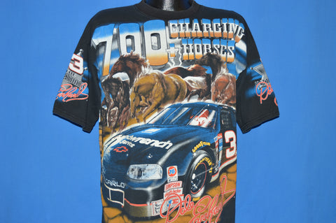 90s Dale Earnhardt Intimidator Horses t-shirt Large