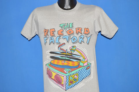 80s The Record Factory 100.9 FM t-shirt Small