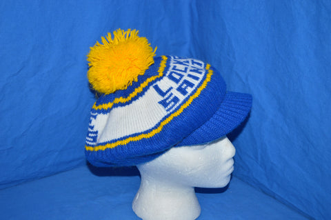 80s Locke Saints Bobble Brim Winter Hat