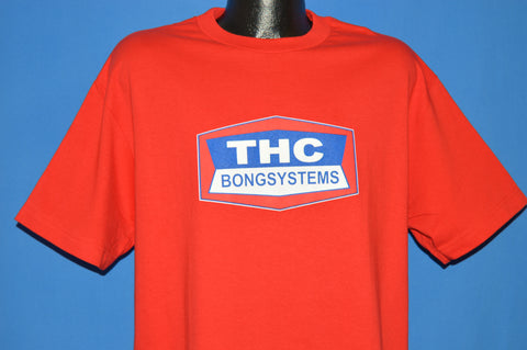 90s THC Bong Systems Deadstock t-shirt Large
